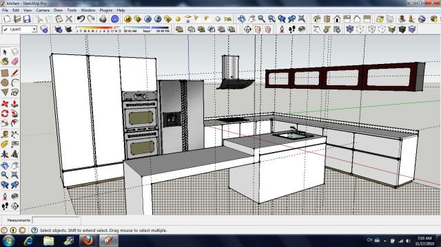 kitchen 3d perspective 3d perspective